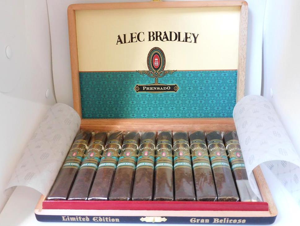 Alec Bradley Prensado Gran Belicoso-Open Box