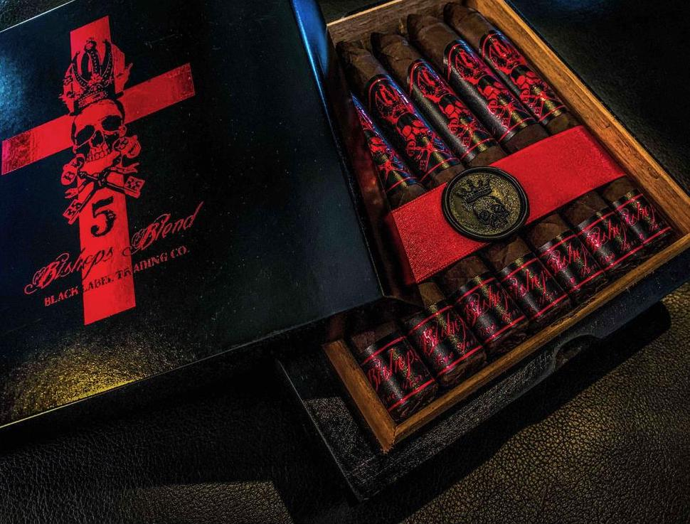 Cigar News: Bishops Blend Fifth Year Anniversary Corona Larga and Robusto Sizes Ship