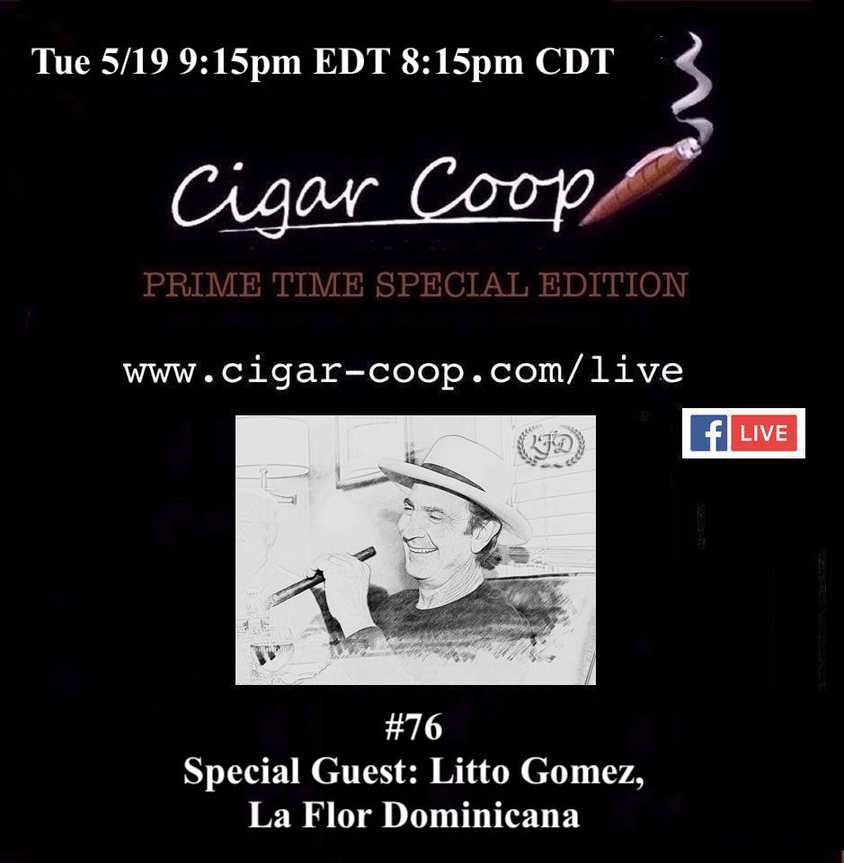 Announcement: Prime Time Special Edition 76 – Litto Gomez, La Flor Dominicana