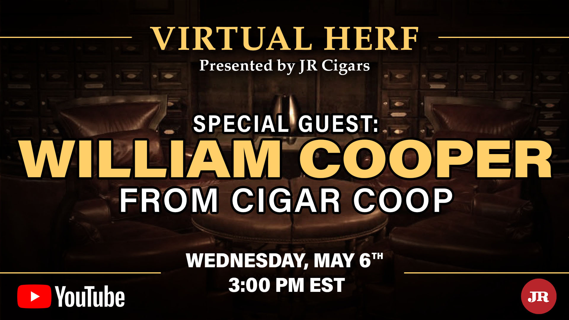 The Blog: Will Cooper Guests on JR Cigars Virtual Herf