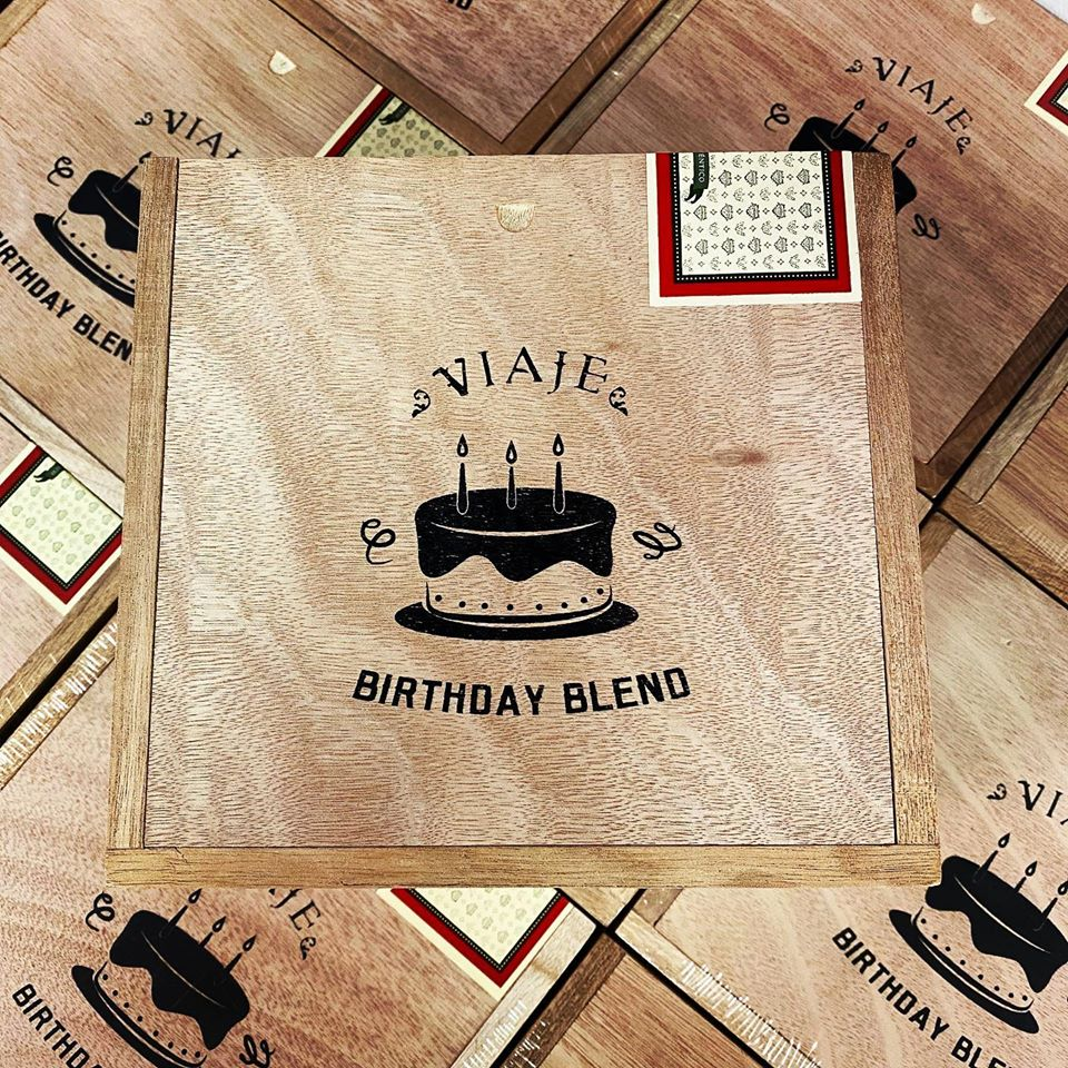 Cigar News: Viaje Birthday Blend Returns for 2020
