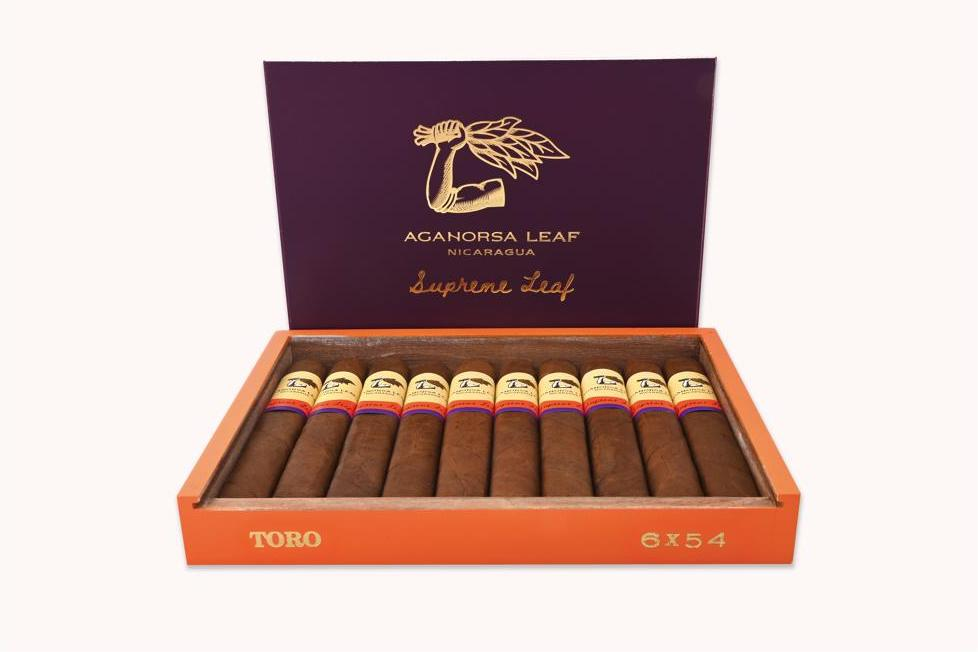 Cigar News: Aganorsa Leaf Supreme Leaf Toro Coming in July