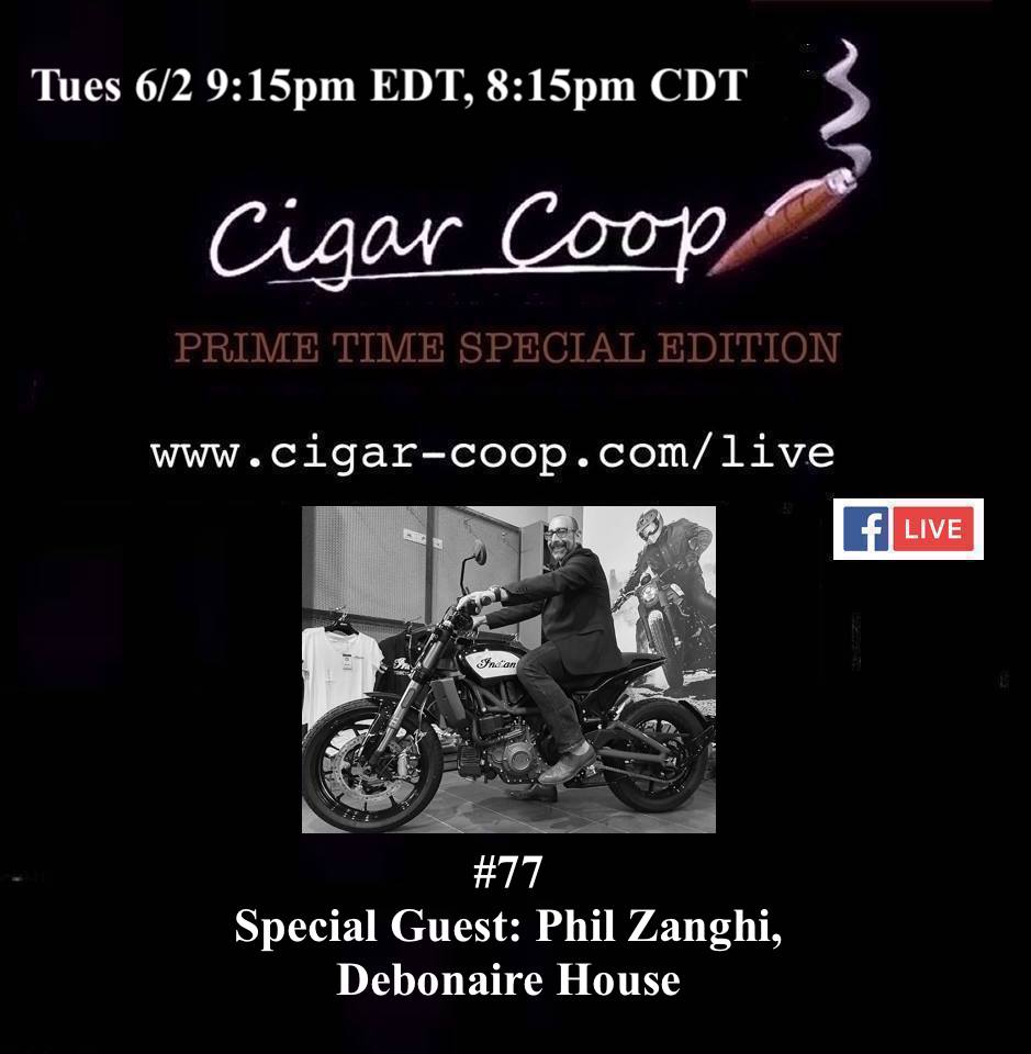 Announcement: Prime Time Special Edition 77 – Phil Zanghi, Debonaire House