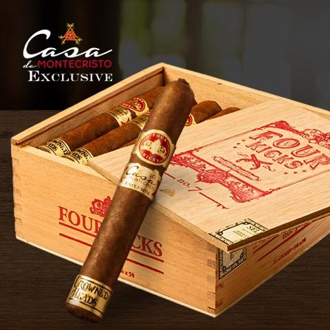 Cigar News: Crowned Heads Four Kicks No. 7 Casa de Montecristo Exclusive Announced