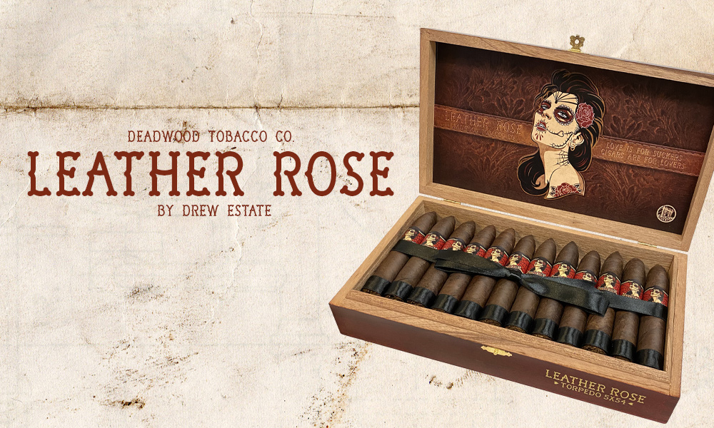 Cigar News: Drew Estate Announces Deadwood Tobacco Leather Rose