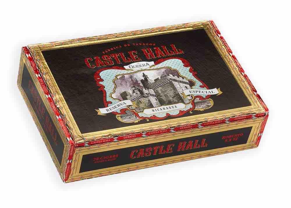 Cigar News: Gurkha Cigars Releasing Castle Hall Nicaragua