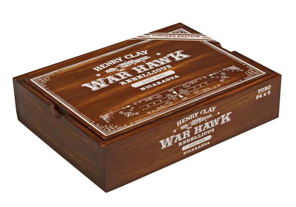 Cigar News: Henry Clay War Hawk Rebellious Limited Edition Set to Debut in July