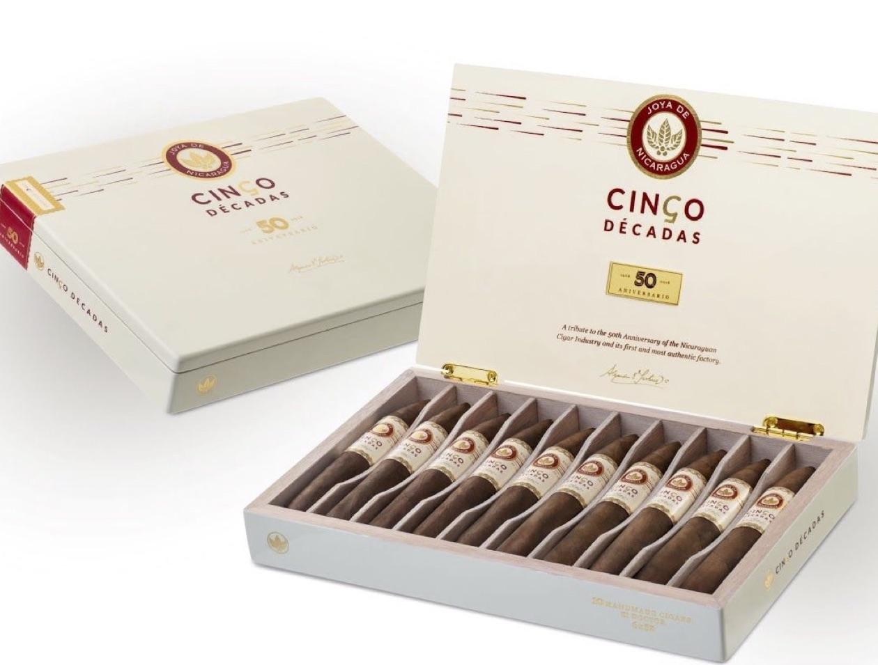 Cigar News: Joya de Nicaragua Cinco Décadas El Doctor Coming This Summer