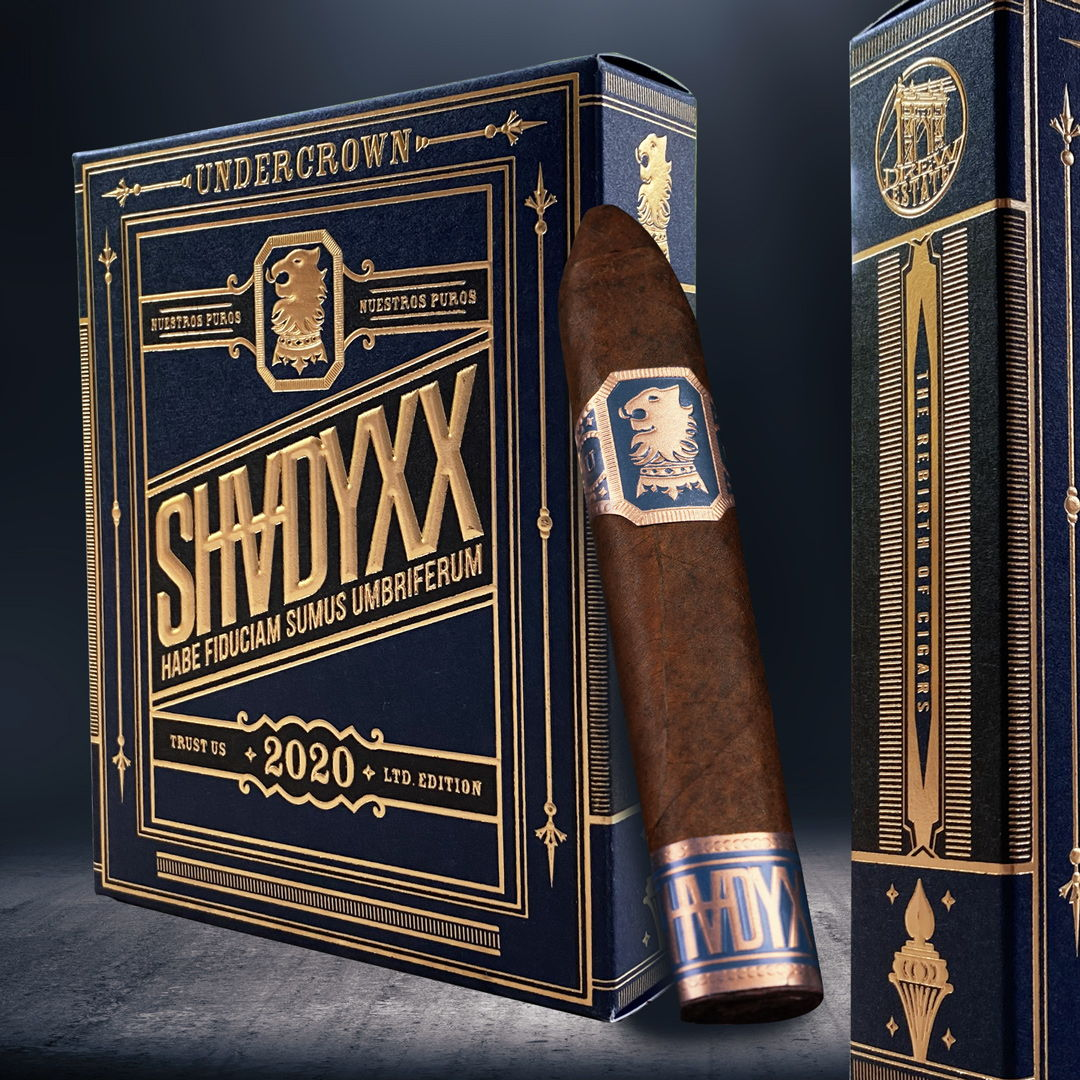 Cigar News: Drew Estate Announces Return of Undercrown ShadyXX for 2020