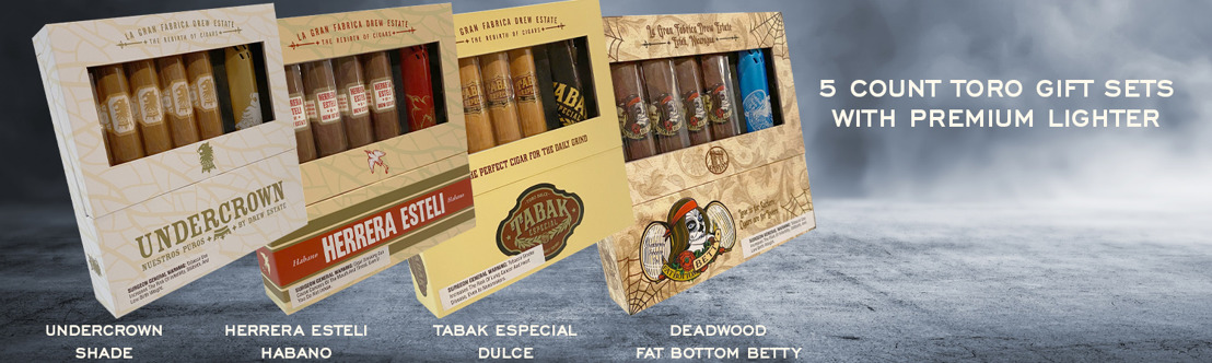 Cigar News: Drew Estate Announces Four Gift Sets