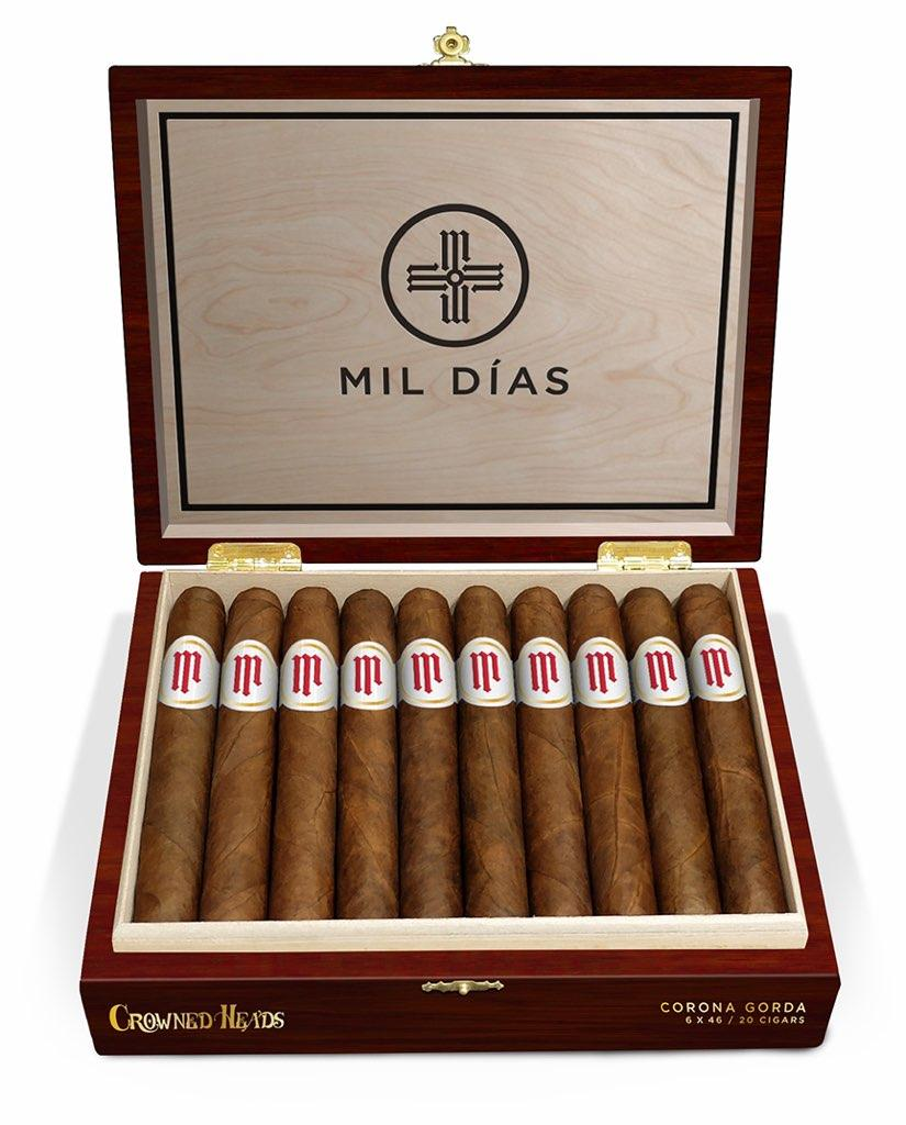 Cigar News: Crowned Heads to Release Mil Días