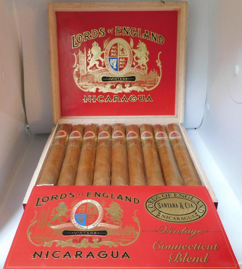 Lords of England Connecticut No. 2 Toro - Open Box
