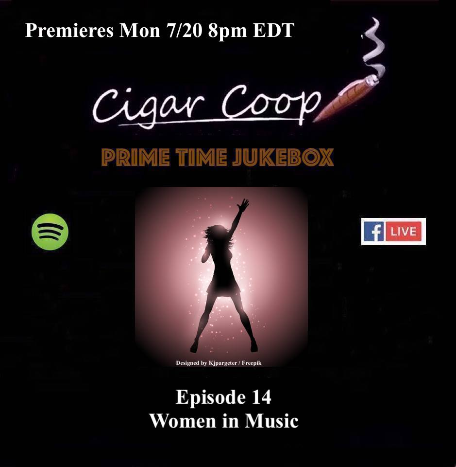Announcement: Prime Time Jukebox Episode 14 – Women in Music