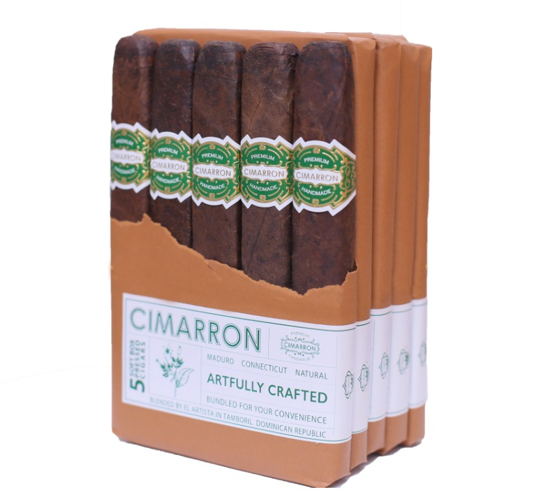 Cigar News: El Artista Releases Cimarron Soft Box-Pressed as Dominican Exclusive