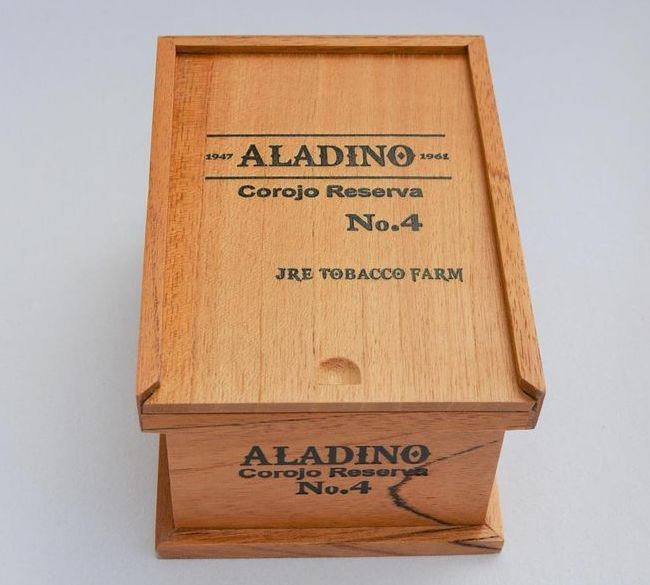 Cigar News: JRE Tobacco Co. Bringing Back Aladino Corojo Reserva No. 4 for 2020
