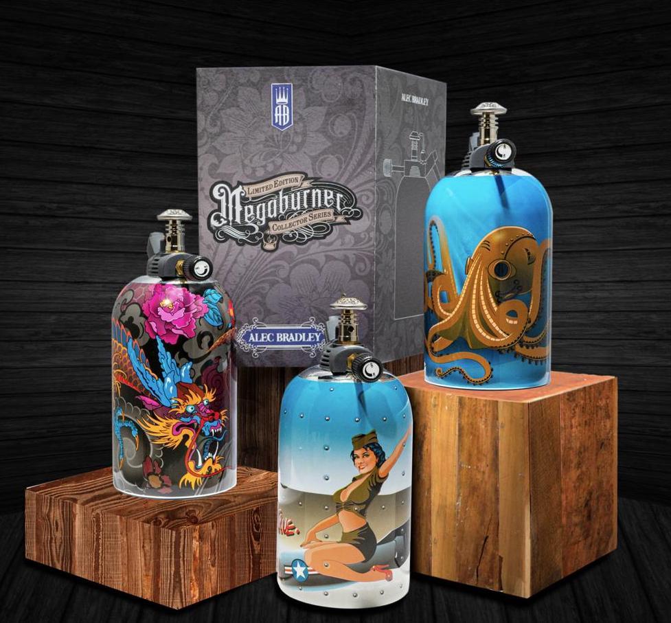 Cigar News: Alec Bradley Announces Limited Edition Megaburner Lighter Series
