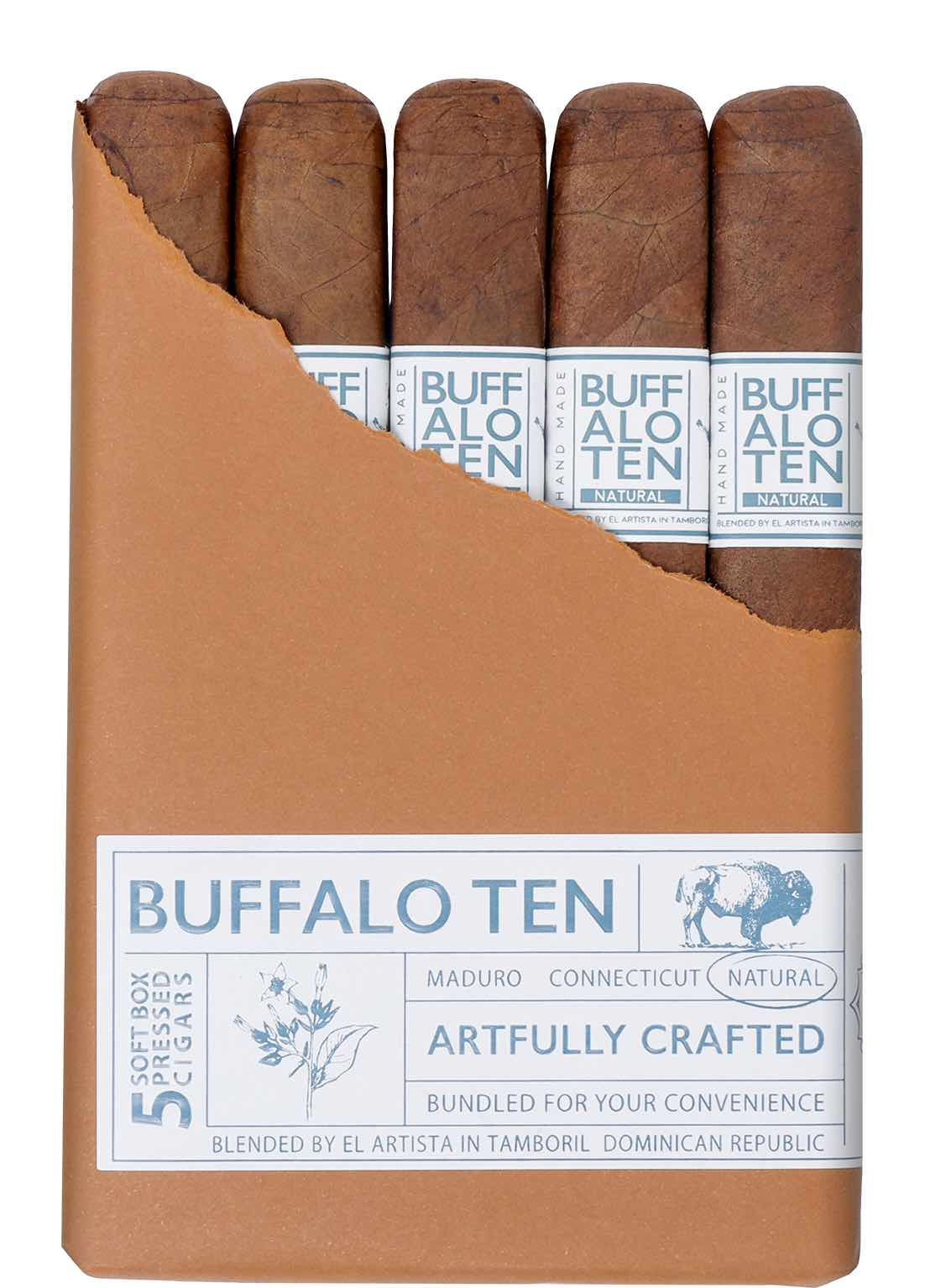 Cigar News: El Artista to Introduce Buffalo TEN Natural