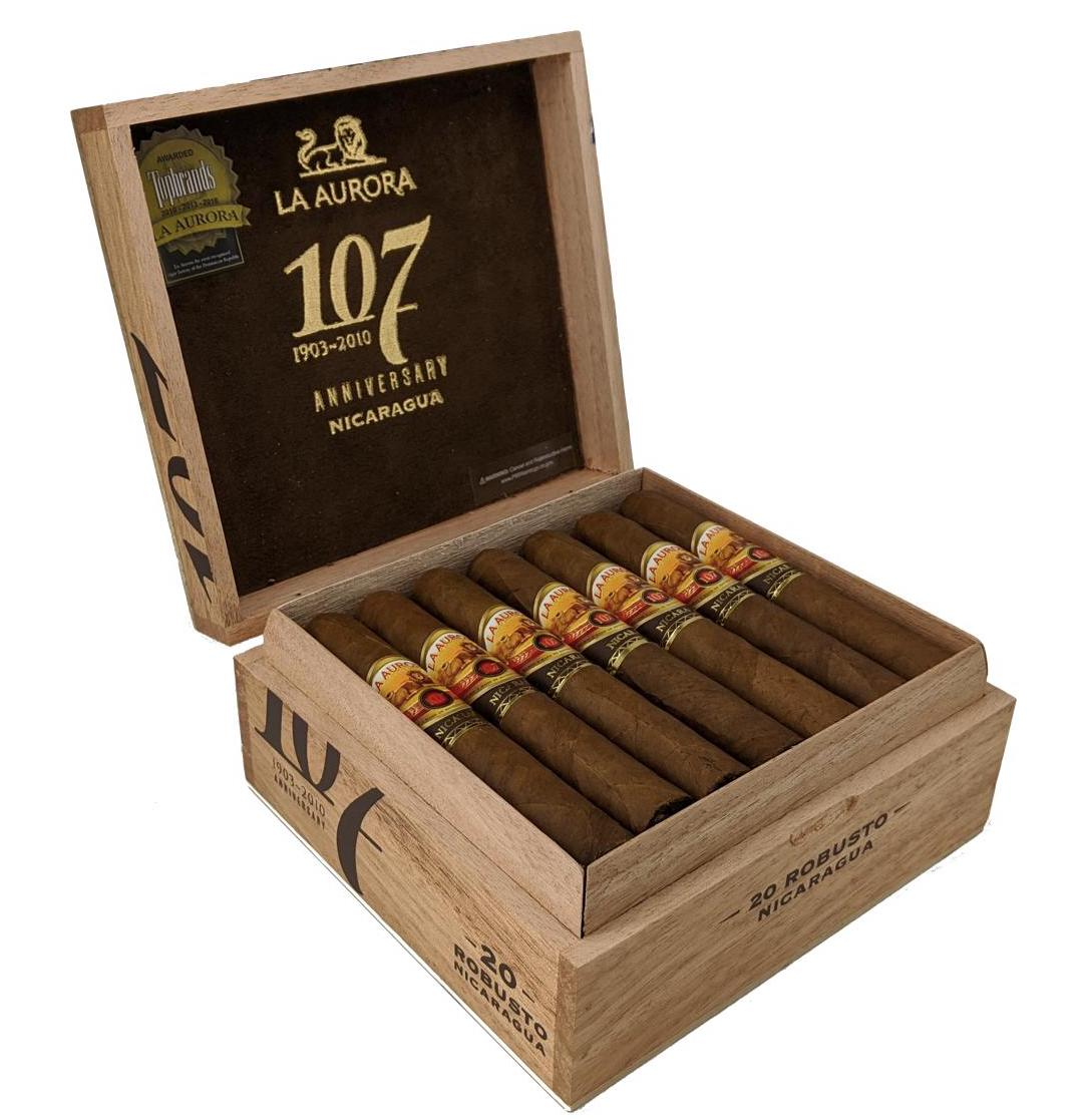 Cigar News: La Aurora 107 Nicaragua to be Released in U.S. Market