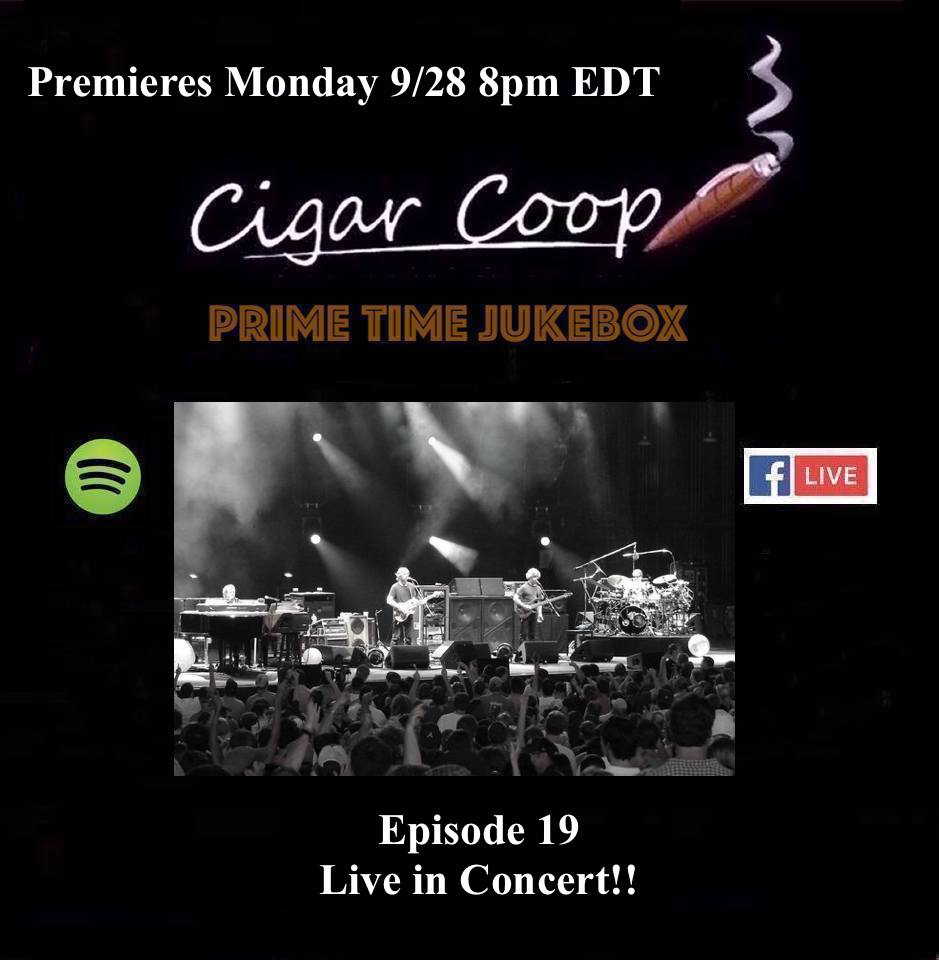 Announcement: Prime Time Jukebox Episode 19 – Live in Concert!!