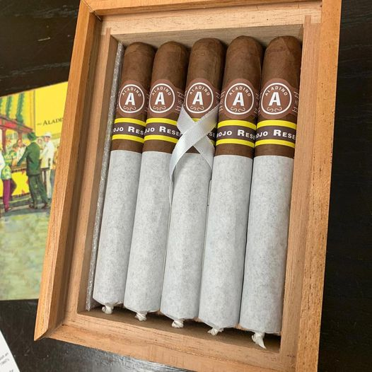 Cigar News: Aladino Corojo Reserva No. 4 2020 Limited Edition Heading to Retailers