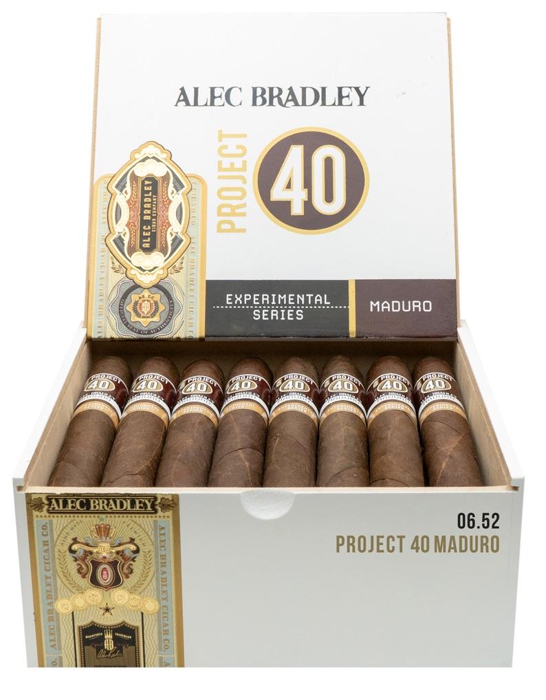 Cigar News: Alec Bradley Project 40 Maduro Announced