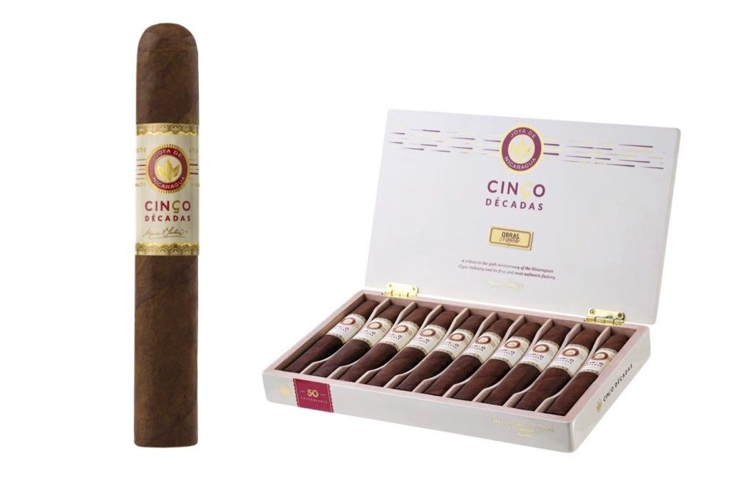 Cigar News: Joya de Nicaragua Cinco Décadas El Embargo Announced as European Exclusive