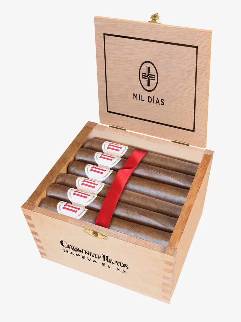 Cigar News: Crowned Heads Announces Mil Días Mareva EL XX