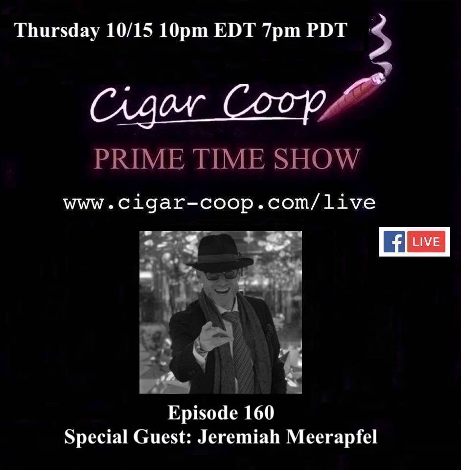 Announcement: Prime Time Episode 160 – Jeremiah Meerapfel