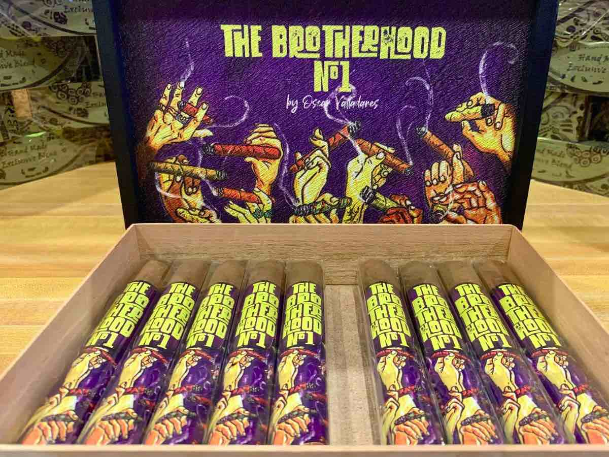 Cigar News: Brotherhood No. 1 by Oscar Valladares Released