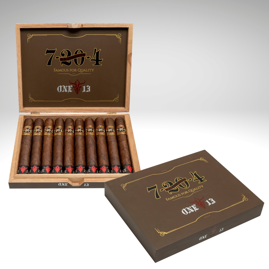 Cigar News: 7-20-4 and One13 Announce Limited Edition Collaboration