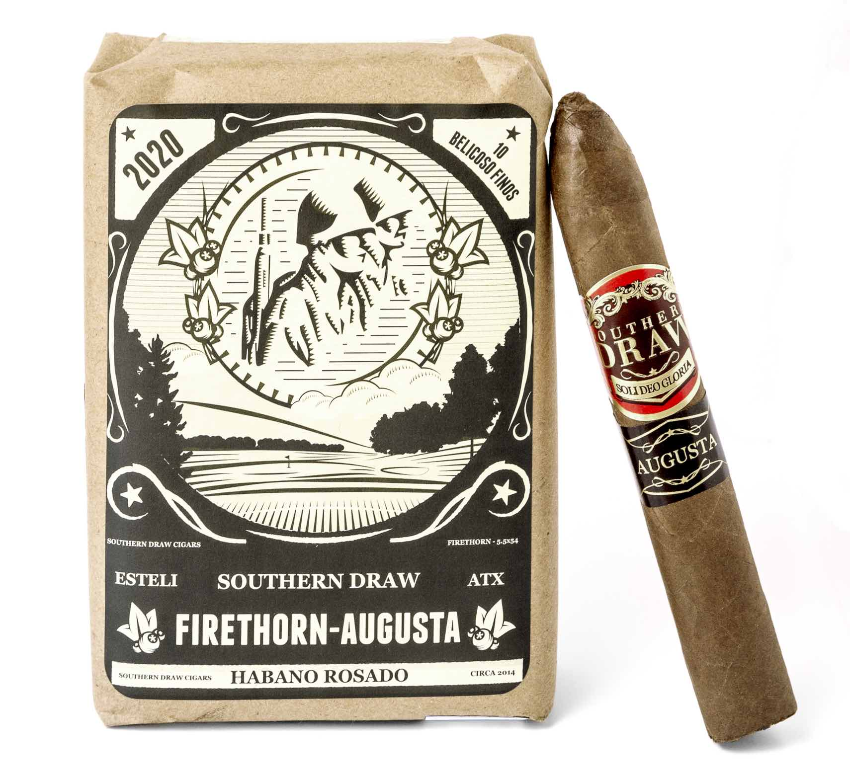 Cigar News: Southern Draw Cigars Announces Firethorn Augusta