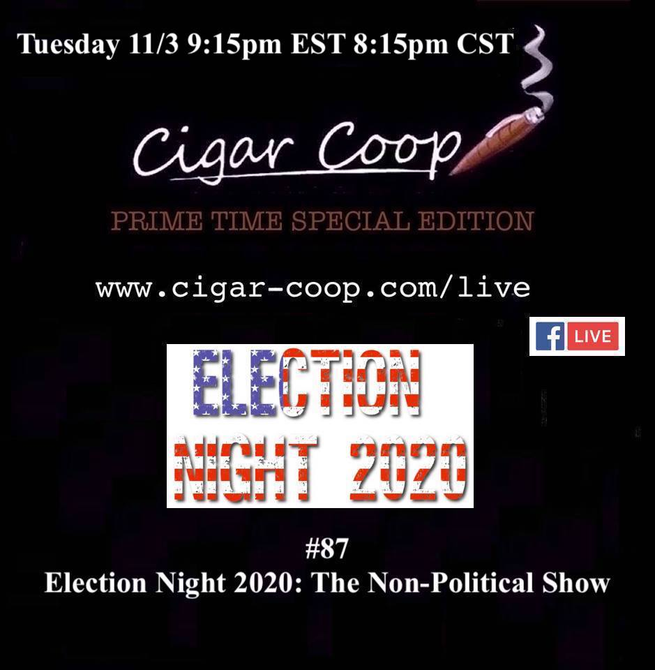 Announcement: Prime Time Special Edition 87 – Election Night 2020: The Non-Political Show