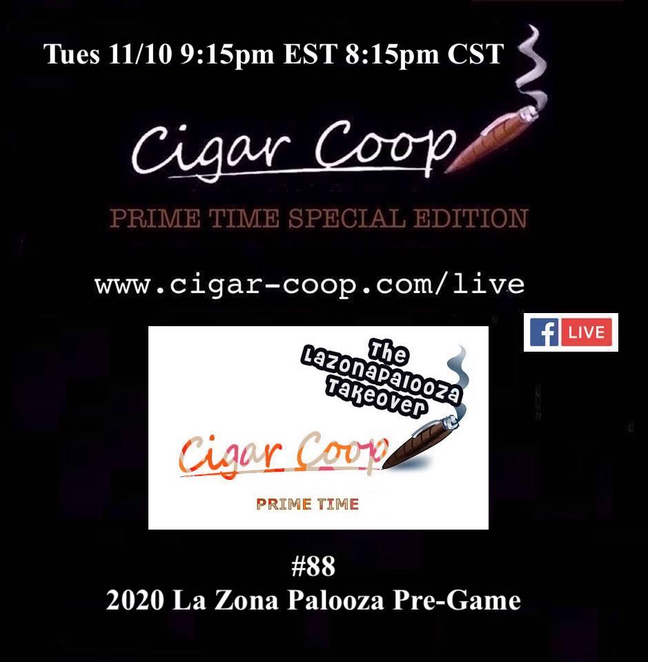 Announcement: Prime Time Special Edition #88 – 2020 La Zona Palooza Pre-Game