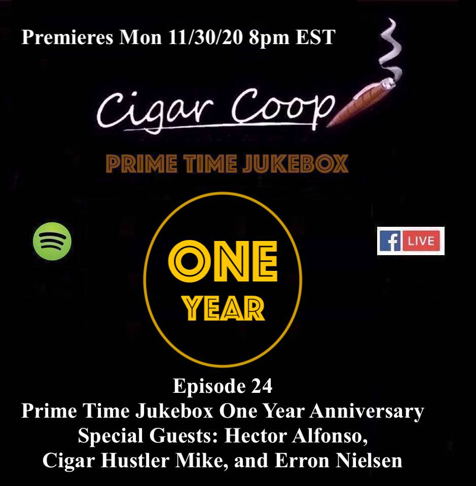 Announcement: Prime Time Jukebox Episode 24 – One Year Anniversary