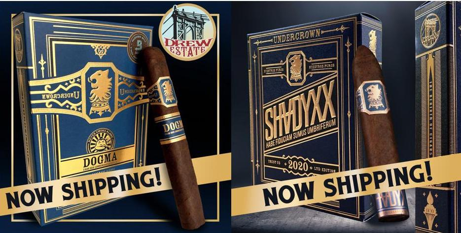 Cigar News: Undercrown Dojo Dogma Maduro and Undercrown ShadyXX Heads to Drew Diplomat Retailers