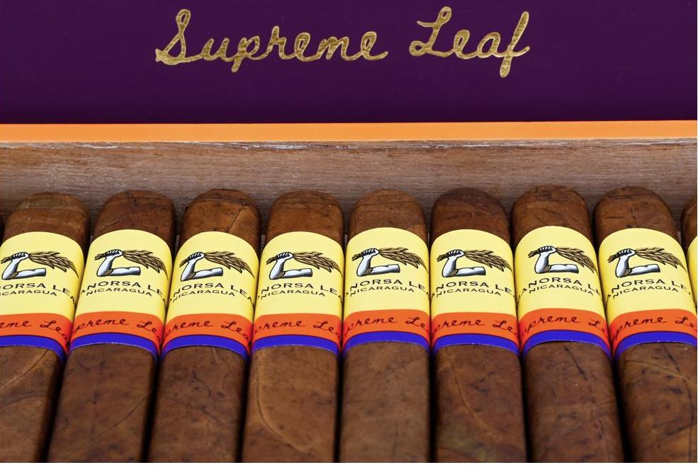 Cigar News: Aganorsa Leaf to Release Supreme Leaf Corona Gorda