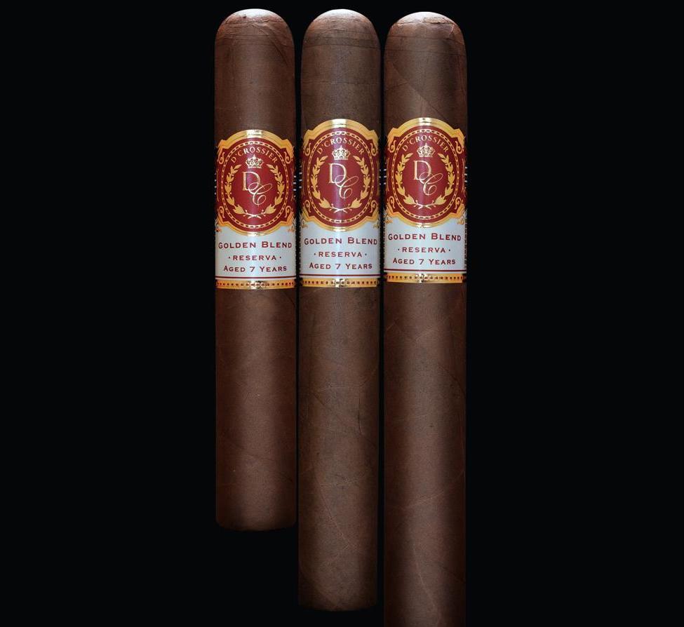 Cigar News: Pure Aroma Cigars Announces D'Crossier Golden Blend Reserva