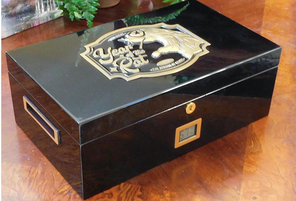 Announcement: Drew Estate Year of the Rat Humidor Winners to be Announced 1/8/21