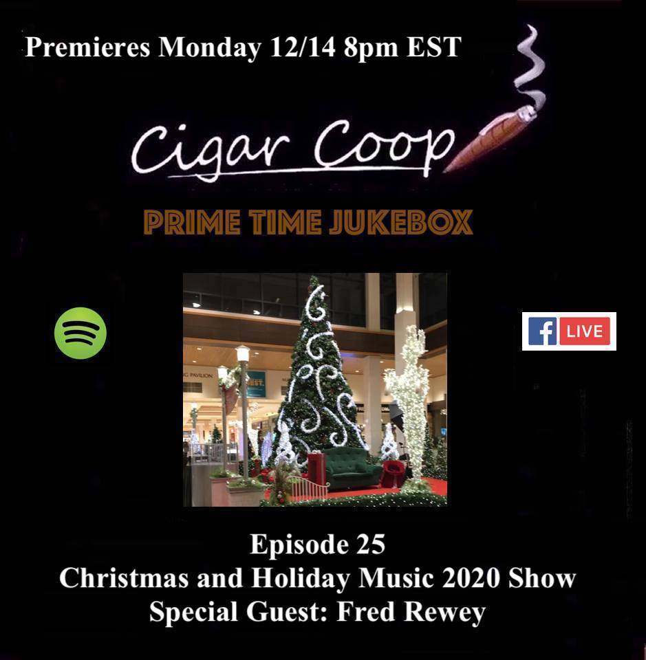 Announcement: Prime Time Jukebox Episode 25 – Christmas and Holiday Music with Fred Rewey
