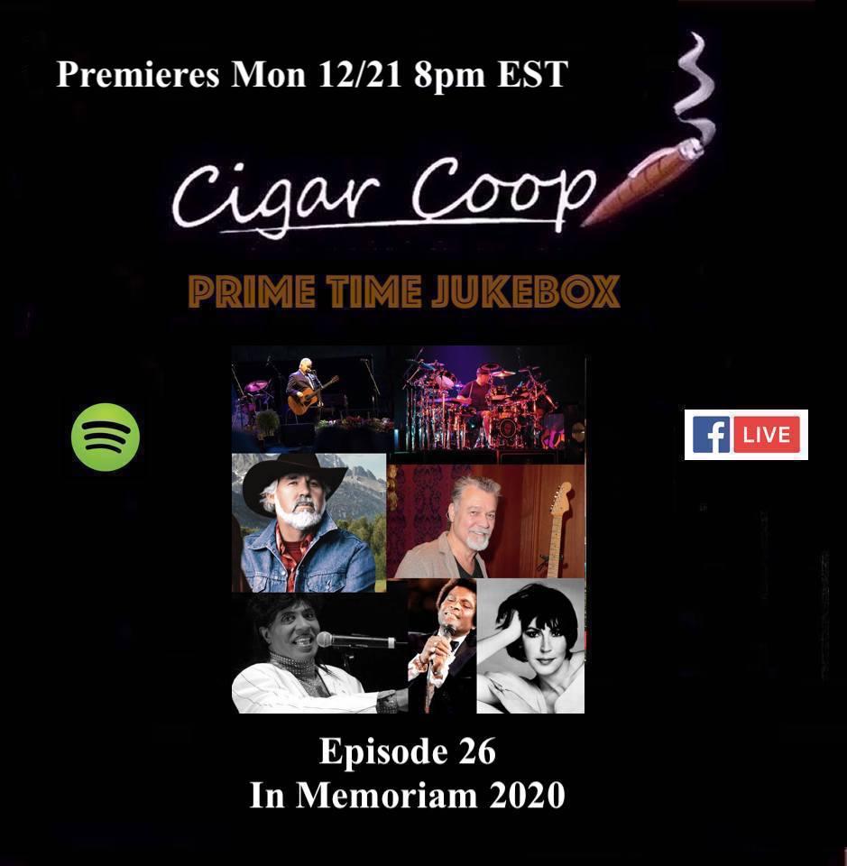 Announcement: Prime Time Jukebox Episode 26 – In Memoriam 2020