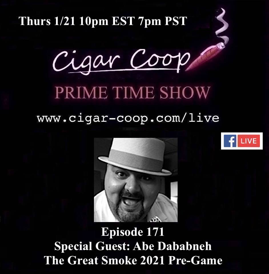Announcement: Prime Time Episode 171: Abe Dababneh – The Great Smoke 2021 Pre-Game