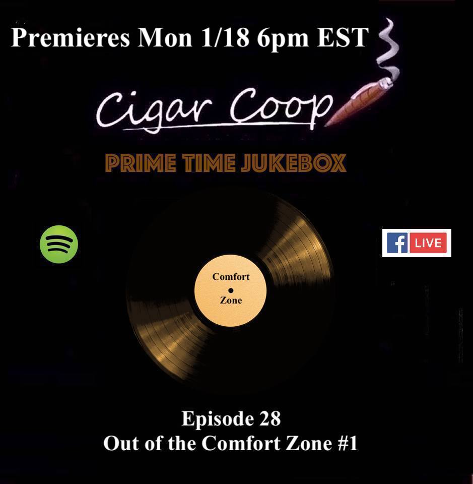 Announcement: Prime Time Jukebox Episode 28 – Out of the Comfort Zone #1