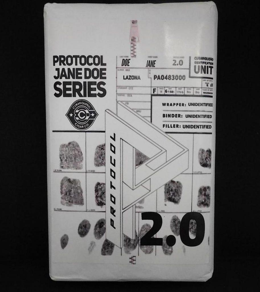 Protocol Jane Doe Series 2.0 Packaging