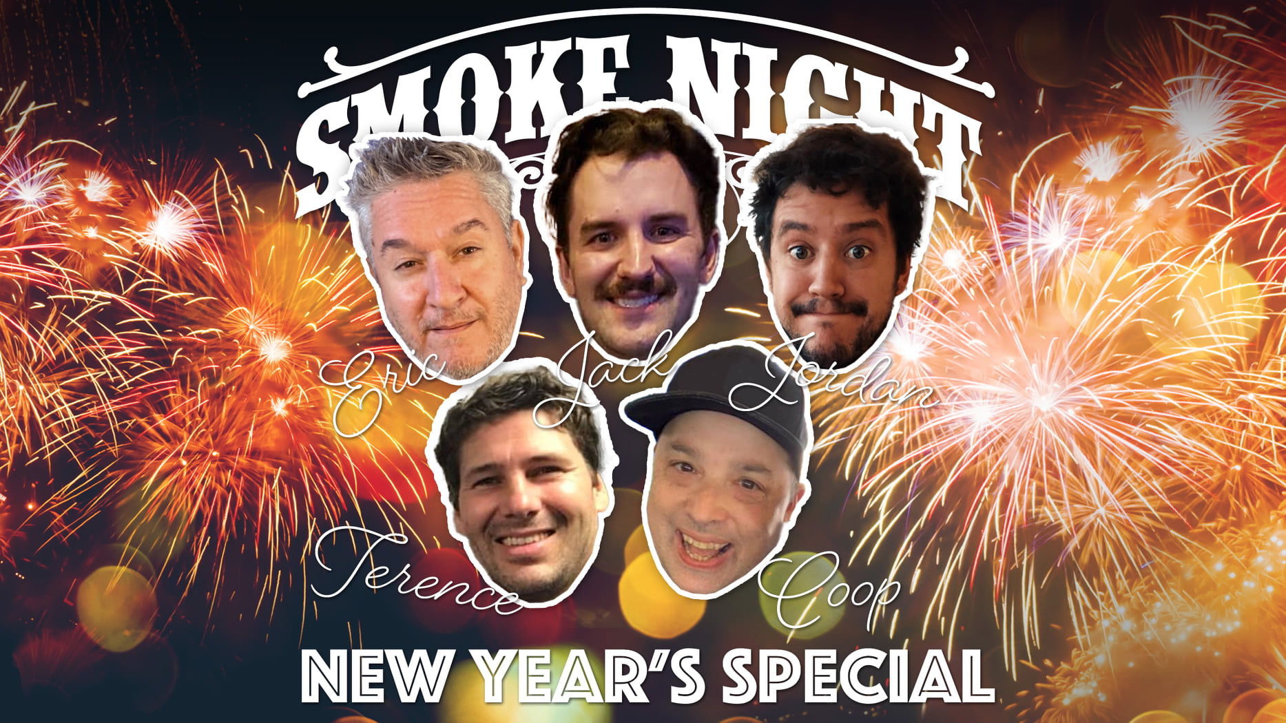 The Blog: Will Cooper Guests on Smoke Night Live's New Year's Special