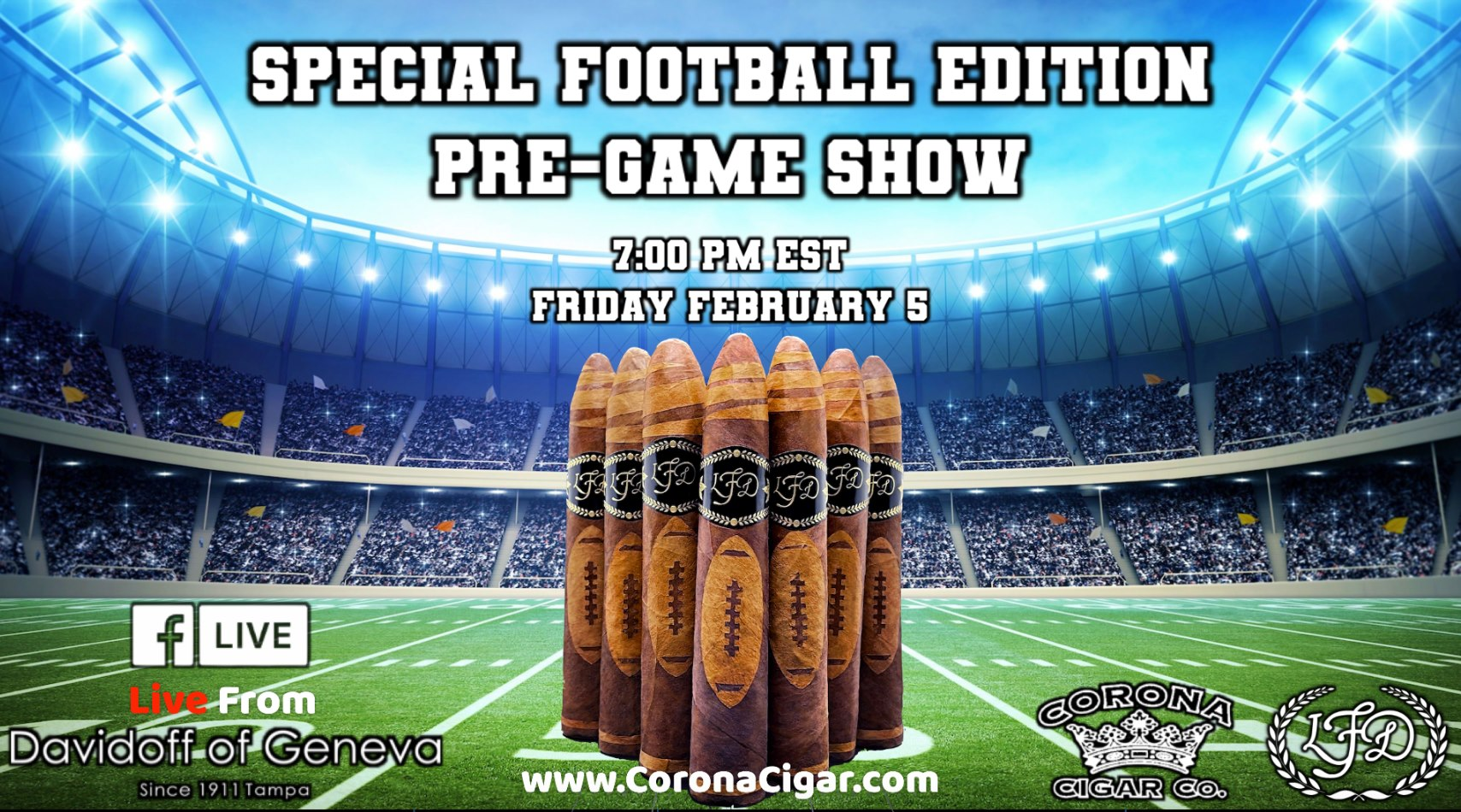 The Blog: Will Cooper and Bear Duplisea Guest on La Flor Dominicana's Big Game Pre-Game Show