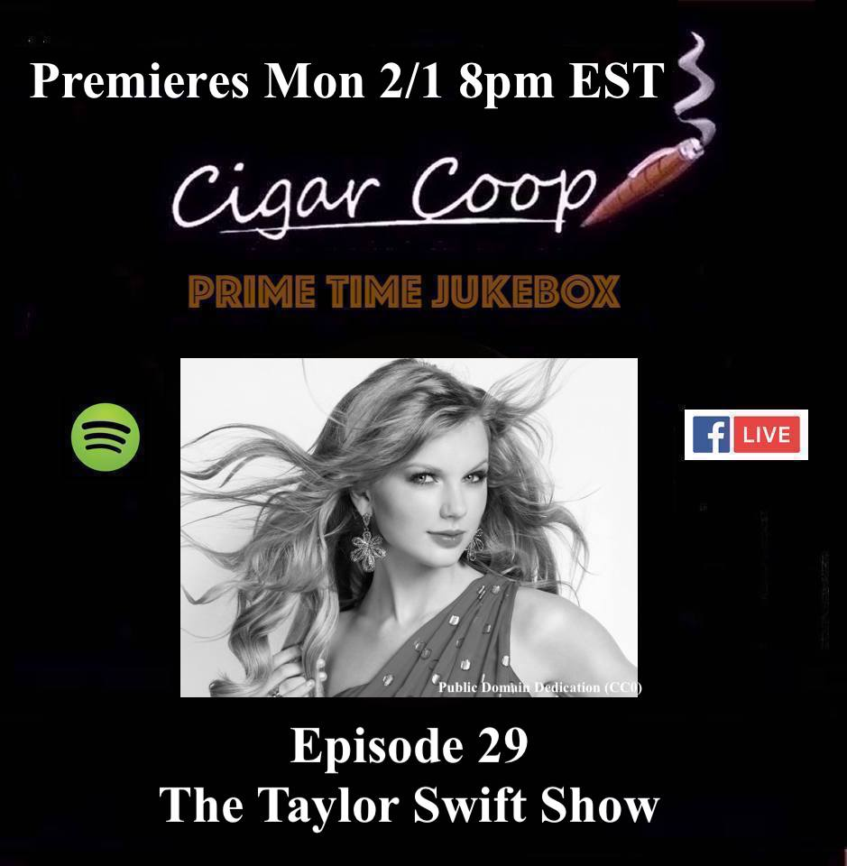 Announcement: Prime Time Jukebox Episode 29 – The Taylor Swift Show