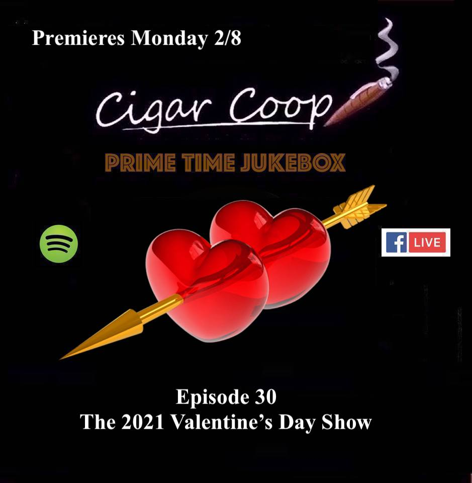 Announcement: Prime Time Jukebox Episode 30 – The 2021 Valentine's Day Show