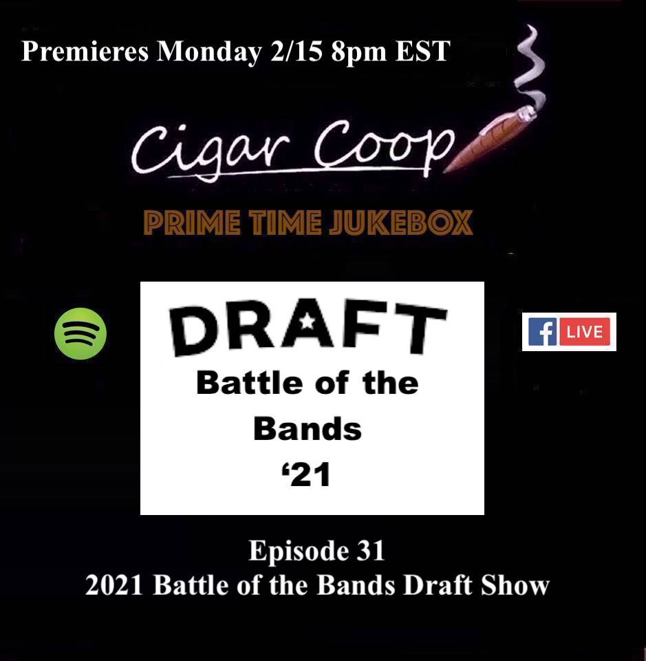 Announcement: Prime Time Jukebox Episode 31: The 2021 Battle of the Bands Draft Show