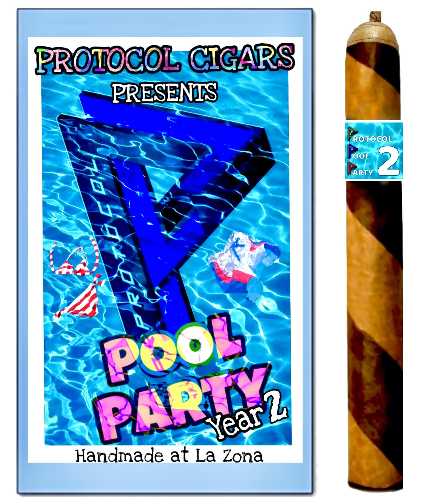 Cigar News: Protocol Pool Party Year 2 Cigar Announced