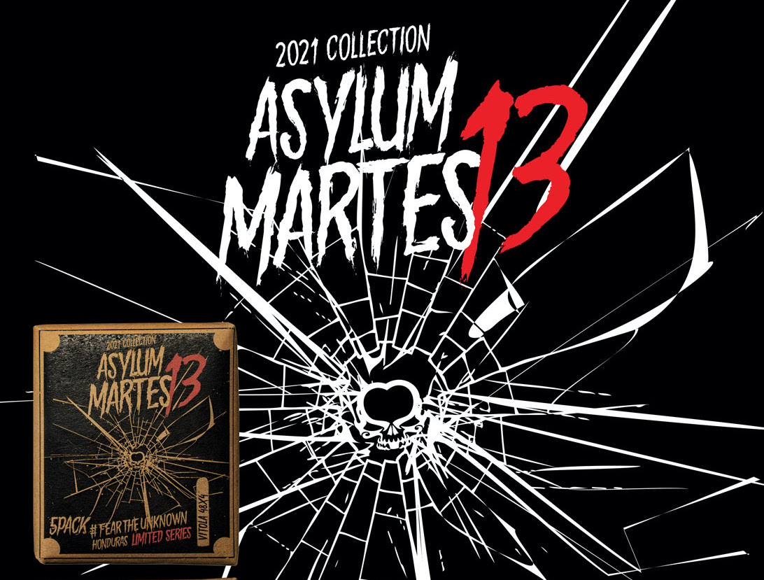 Cigar News: Asylum Martes 13 Limited Edition Announced